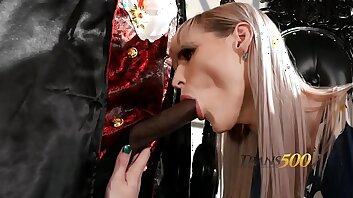 TS Lianna Lawson Trapped in the Vampire's Lair!
