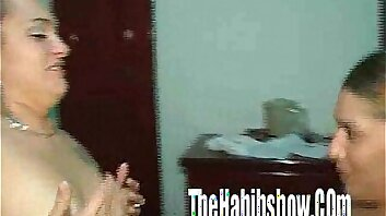 Latin Tranny Fucks Pussy for the First Time EVER